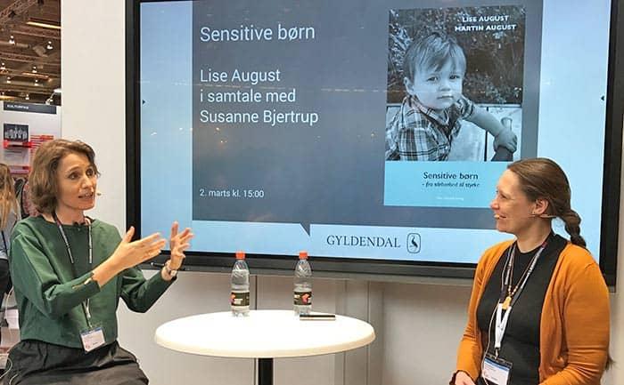 Samtale, Lise August og Susanne Bjertrup