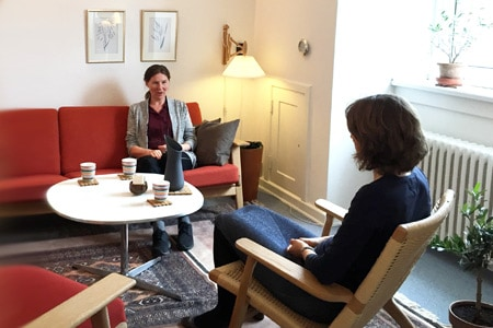 Lise og klient terapi samtaler