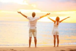 Sensitiv mand og kvinde slipper bekymringer