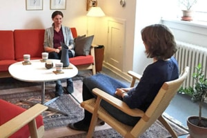 Sensitiv samtale terapi i Frederiksberg med Lise August